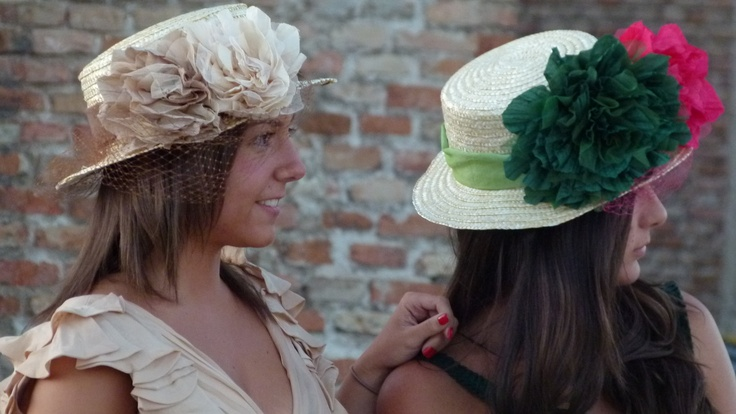 Canotier Roma  www.tocadosmirsi.com #sombreros