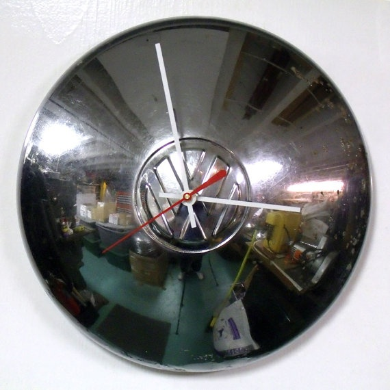 VW Bus Wall Clock: Bus Wall, V Dub Things, Vw Bus, Wall Clocks