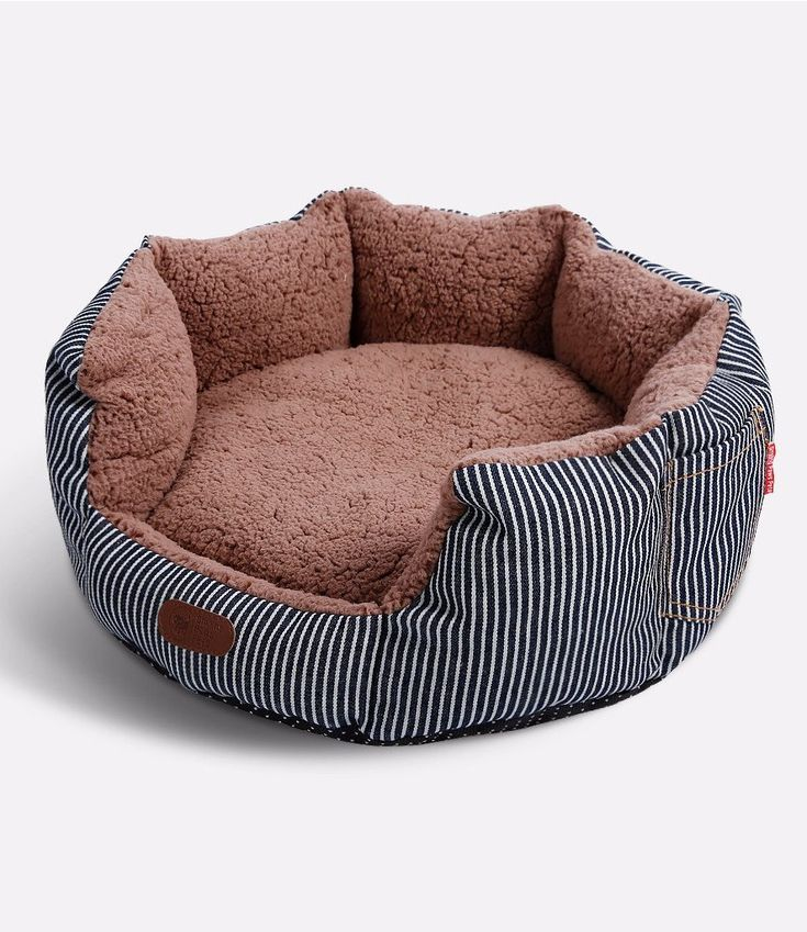 Round Pet Bed For Cats and Small Dogs – Premium Organic