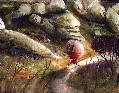 """Check out new work on my @Behance portfolio: """"Creatures from far&away""""…"""