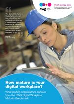 """""""How mature is your digital workplace? What leading organizations discover from the DWG Digital Workplace Maturity Benchmark"""" looks at the contribution that evaluating and benchmarking the maturity of an organization's digital workplace can make to understanding, and therefore advancing the digital workplace.  Free report."""