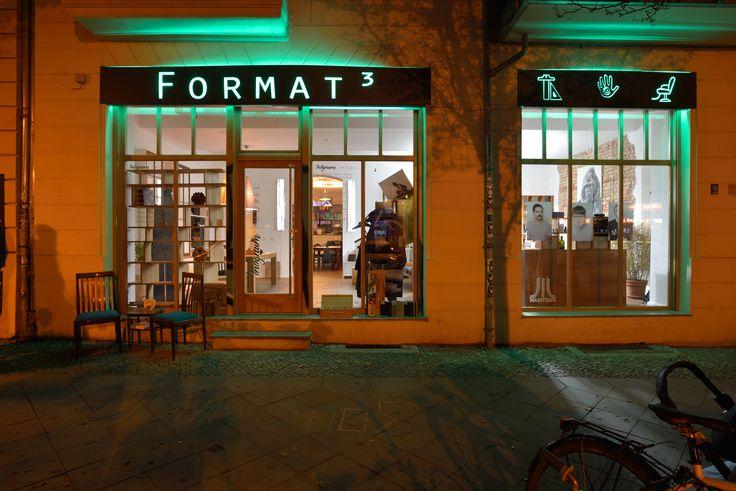 FORMAT³ - Concept Store in Berlin Friedrichshain   http://format-raum.de