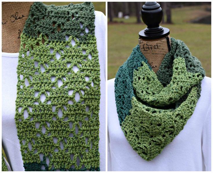 The Vintage Bloom Scarf: FREE crochet pattern - ELK Studio - Handcrafted Crochet Designs