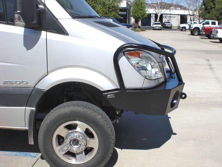 Aluminum Off Road Winch Bumper for the Mercedes Sprinter Van