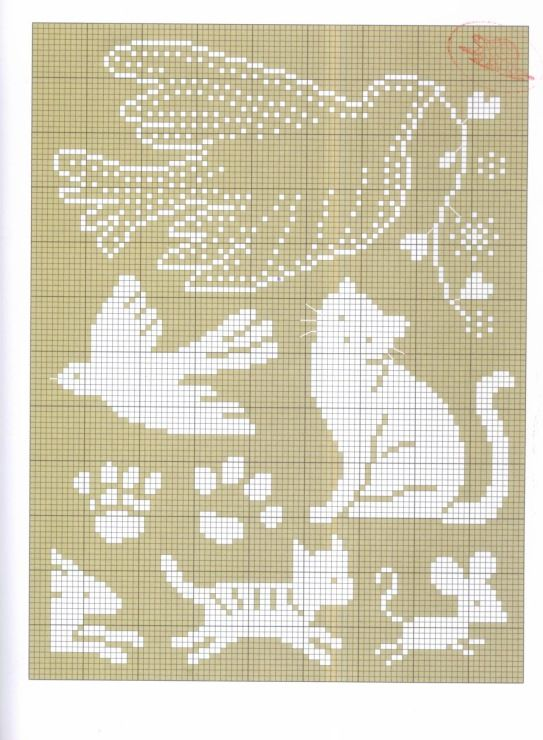 Knitting Chart No Stitch : As melhores imagens em knitting hexipuff charts no