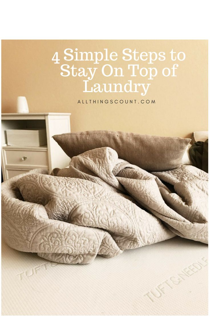 Stuck on the hamster wheel of never-ending laundry? This article gives you simple, efficient ways to stay on top of laundry.