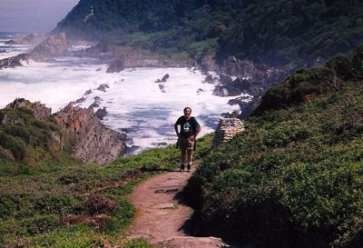 Tsitsikama Otter Trail. Prachtige hike van meerdere dagen (of je kunt een deel doen) langs de kust van de Tuinroute