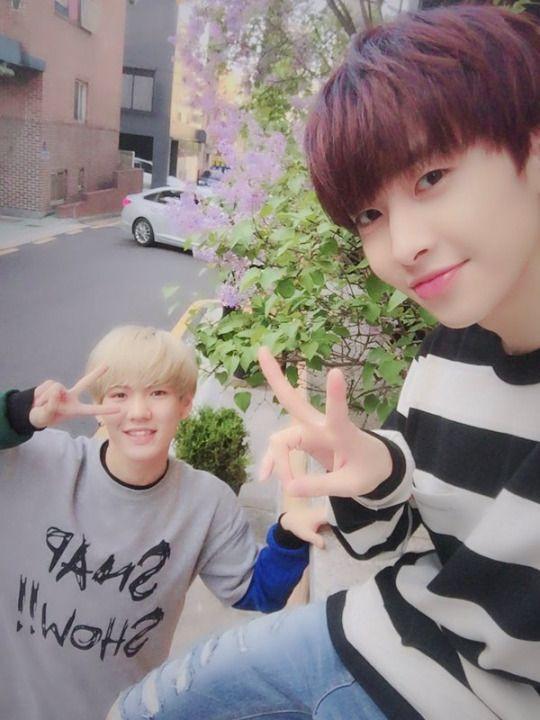 UP10TION Hwanhee Xiao Xiaohee duo maknae