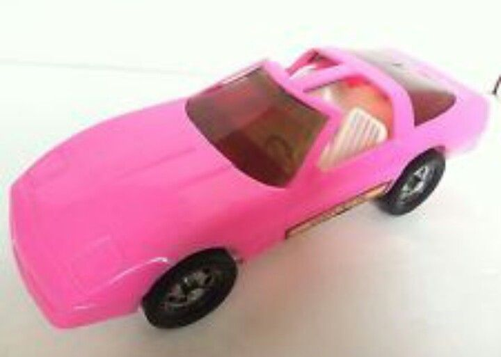 I totally had a Barbie car like this!!!