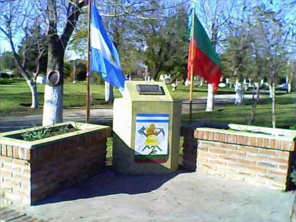 Monumento a los Bomberos Voluntarios Mechongue