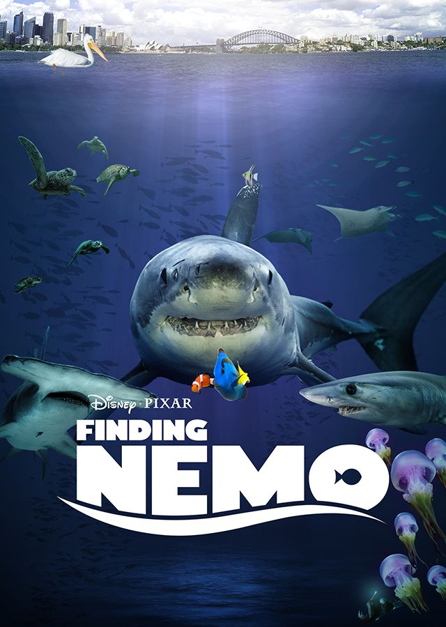 Finding Nemo : Your Favorite Disney Movie Posters Get the Live-Action Treatment | Obsev