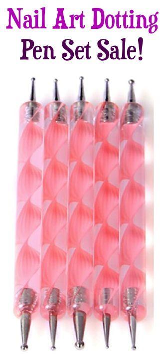 Nail Art Dotting Pen Set Sale: $2.10 + FREE Shipping!
