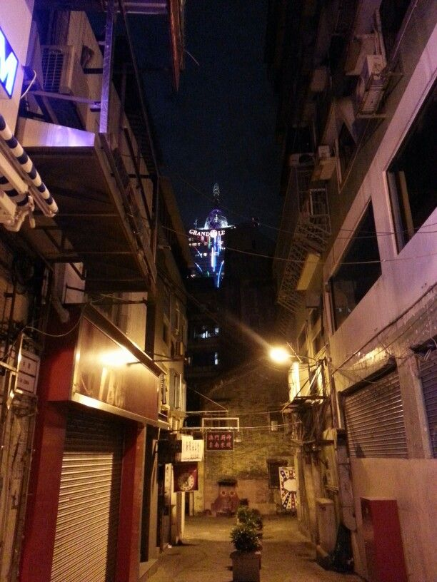 In the macau town