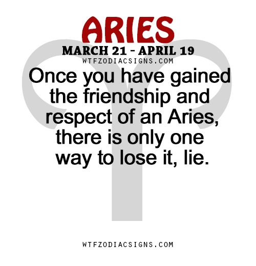Once you have gained the friendship and respect of... - fun zodiac signs fact