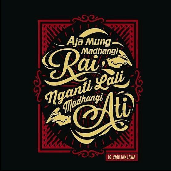 100 Kata Bijak Bahasa Jawa Kuno Beserta Artinya Betantt Com Kata Kata Mutiara Kutipan Ramadhan Bijak