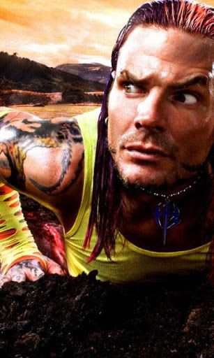 "Free Download Jeff Hardy HD Wallpapers. This application can set background for mobile and tablet, fix size 480x800 pixel. Enjoy It!<p>Jeffrey Nero ""Jeff"" Hardy (born August 31, 1977) is an American professional wrestler, singer-songwriter, painter and musician who is currently signed to Total Nonstop Action Wrestling (TNA). He is also known for his prominent appearance with the World Wrestling Federation/Entertainment (WWE). WWE gave Hardy credit for ""revolutioniz[ing]…"