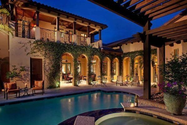 Fabulous Hacienda Style Homes Ideas Decorating Tips Paint Color Accessories Etc For Small Hacienda Style Homes Courtyard House Plans Spanish Style Homes
