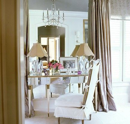 1000 images about boudoir tables on pinterest dressing for Skinny dressing table