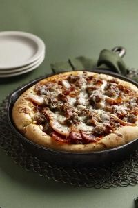 Mighty Meat Pizza