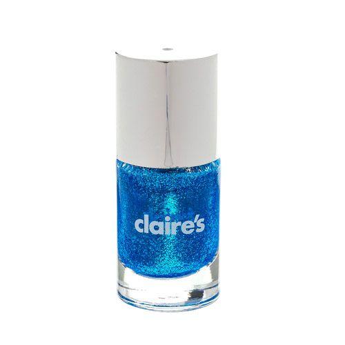 Royal Blue Glitter Nail Polish
