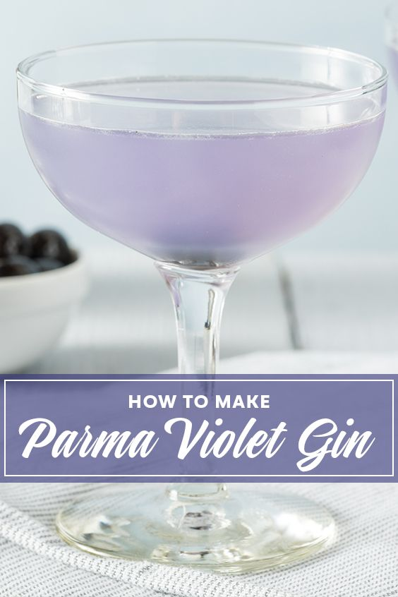 We Made Our Very Own Parma Violet Gin And This Is What