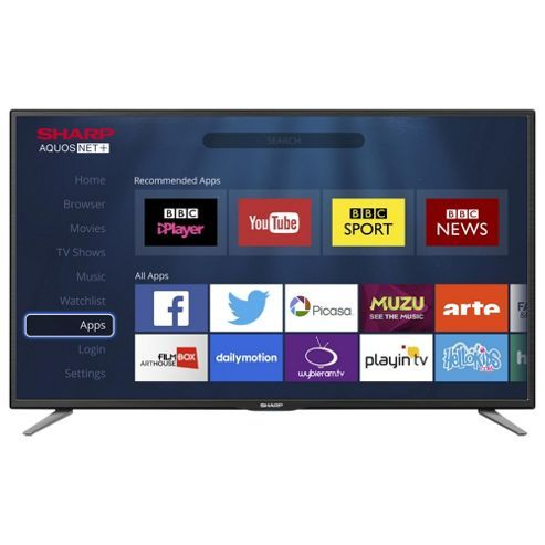 Sharp LC-32CHE6131K 32 Inch Smart HD Ready LED TV with Freeview HD