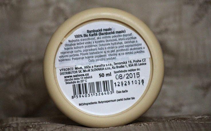 Bio karité 100% bambucké maslo - KAMzaKRÁSOU.sk - #kamzakrasou #cosmetics #saloos #face #cream #bio  #sheabutter #naturcosmetics