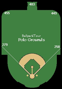 home run wall dimensions polo grounds pinterest home polo grounds and baseball park. Black Bedroom Furniture Sets. Home Design Ideas