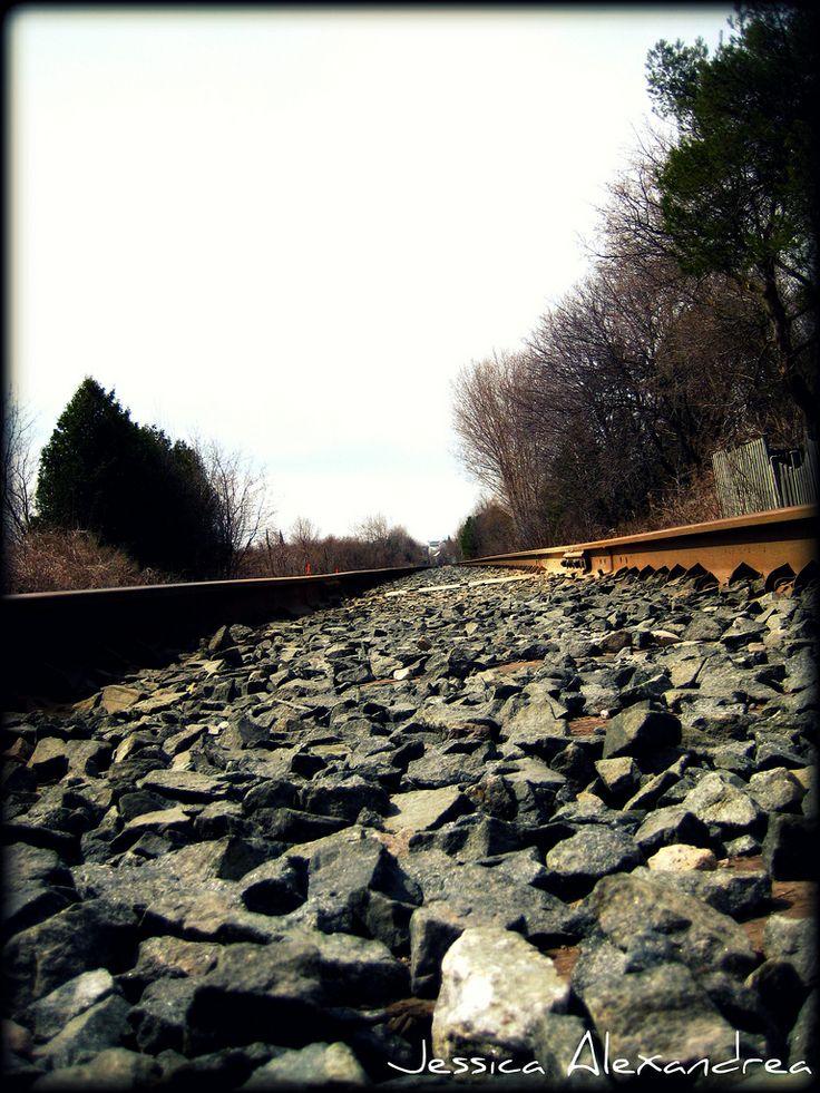Train Tracks, pretty rocks lol