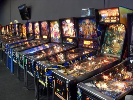 PELHAM:  Just north of MA/NH Border:  Expertly restored pinball machines as far as the eye can see.