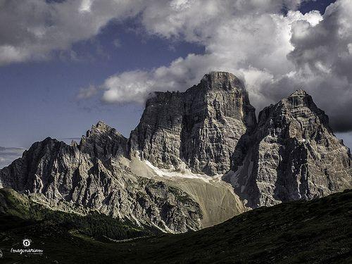 Landscape 002 / 2013 - Pelmo (Italy) - Il trono di Dio