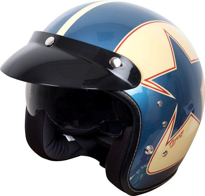 New Duchinni Open Face Helmet with Retro Graphics - http://superbike-news.co.uk/wordpress/new-duchinni-open-face-helmet-retro-graphics/