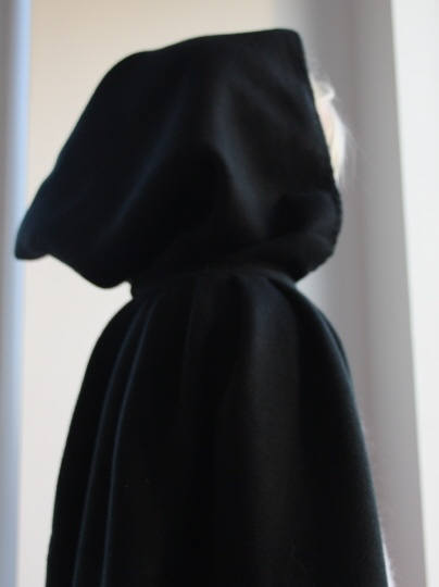 Sy kappe til halloween