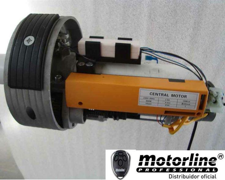 MOTORLINE MC4SP MOTOR PARA PERSIANAS INDUSTRIALES O COMERCIO. - http://www.automatismosypuertas.es/automatismos/motorline-mc4sp-motor-para-persianas-industriales-o-comercio/