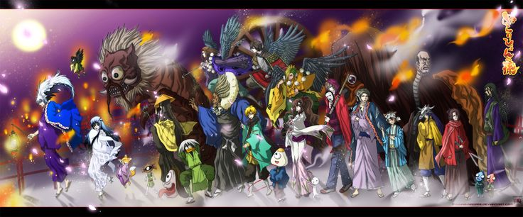 night_parade_of_one_hundred_demons_by_ryuuka_nagare-d4j8u3k.png (2436×1013)