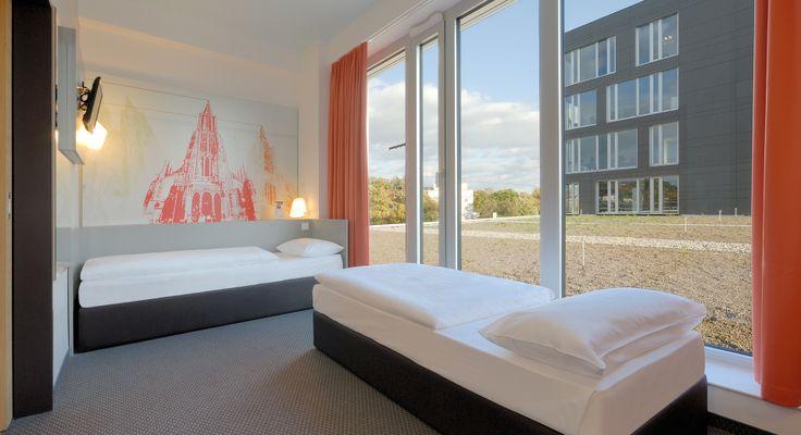 Barrierefreies Zimmer im B&B Hotel Ulm