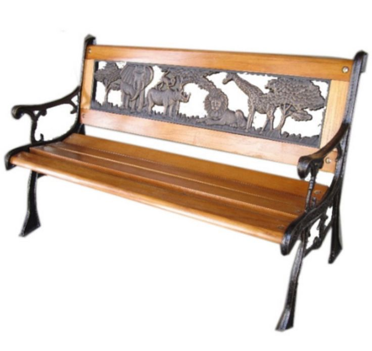 jungle cast iron kids park bench traditional outdoor furniture bronze finish