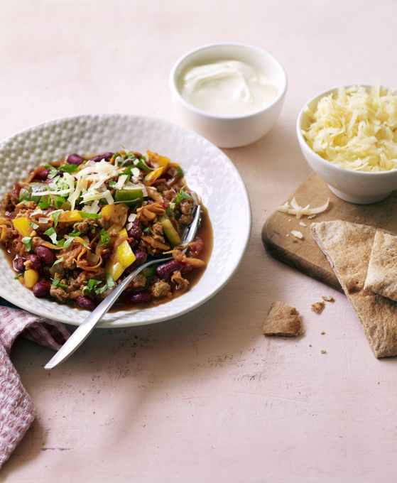 139 best family dinner recipes images on pinterest bbc recipes meat free chilli con carne bbc recipesbudget recipesdinner forumfinder Choice Image