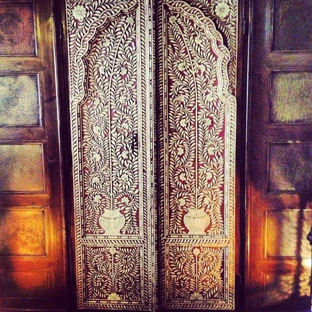 Beautiful doors & 58 best Moroccan Doors images on Pinterest | French doors Morocco ...