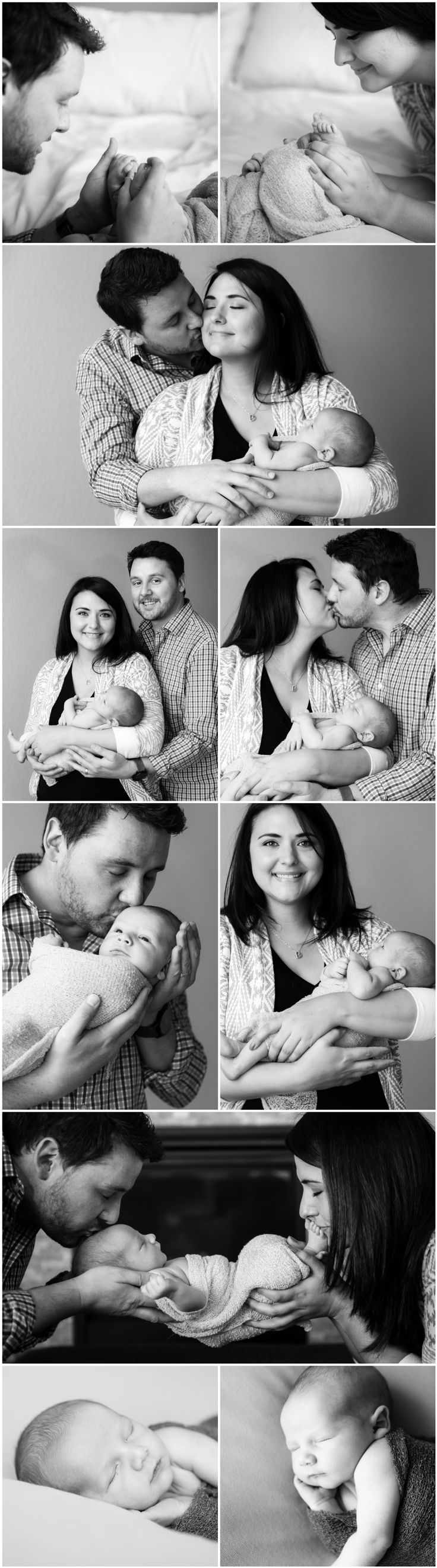 Black and White Newborn Photography Ideas and Inspiration   Newborn Poses   Denver Newborn Photographers   Newborn Portraits