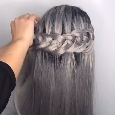 When compiling these hair styles, we wanted them to be suitable for all sizes of hair. #hair #hairstyles #haircut #haircolor #hairtutorial #hairvideos #updo #braid #crochet #braided #braids