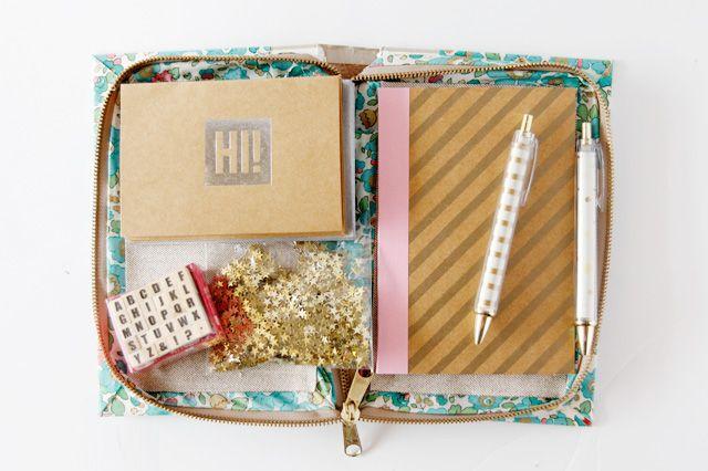 Book Cover With Zipper Pattern : Buy diy zipper book clutch tutorial portafogli borse