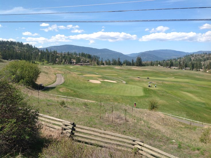 2015/04. Predator Ridge Golf Course in Vernon BC