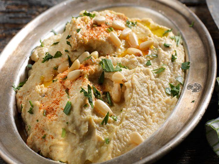 Χούμους με γιαούρτι και καπνιστή πάπρικα - gourmed.gr
