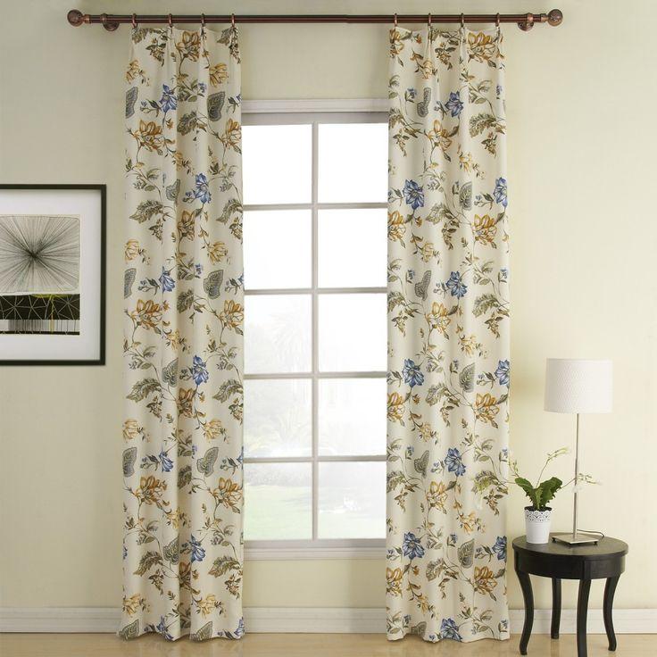 Vitality Country Energy Saving Curtain  #curtains #decor #homedecor #homeinterior #blue