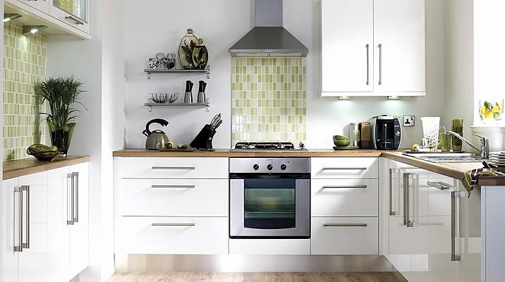 Kitchen Cupboard Awesome B Q Gloss, White Slab Kitchen Cabinet Doors