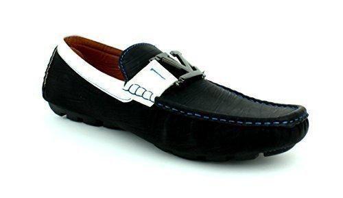 Oferta: 28.22€. Comprar Ofertas de Zapatos Para Hombre Informales Conducción Diseñador Mocasines Mocasines Sin Cordones Moda Italia Estilo negro GB - hombre, Ne barato. ¡Mira las ofertas!
