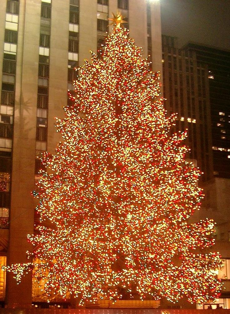 Rockefeller Center christmas tree New York City. My FAVE time to be in NYC! & 143 best CHRISTMAS IN NYC images on Pinterest | Christmas lights ... azcodes.com