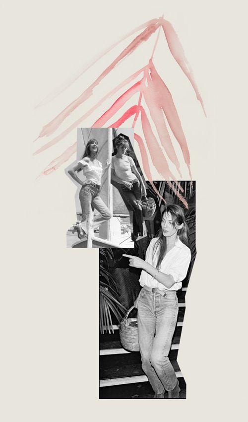 Jane Birkin by Bernadette Pascua.