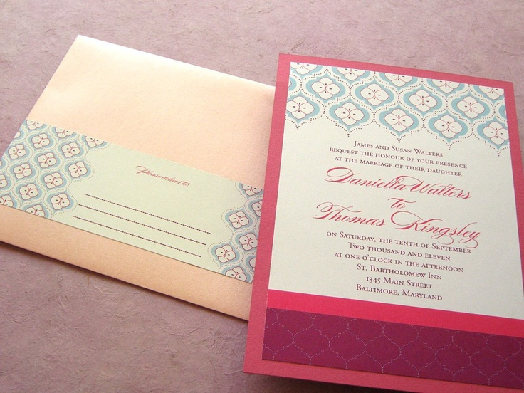 51 best images about handmade wedding invitations on